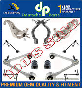 Lincoln Ls 3.0 3.9 Control Arm Ball Joint Sway Bar Links Tie Rods Suspension Kit