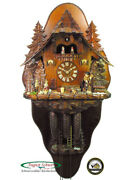 Black Forest Cuckoo Clock 8-day The Witch Cottage New