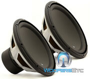2 Pcs. 13w3v3-8 Jl Audio 13.5 Subs 8 Ohm Car Home Subwoofers Bass Speakers New