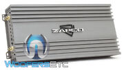 Zapco Z-2kd Ii Monoblock 2100w Rms Subwoofers Speakers Class D Bass Amplifier