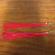 Bicycle Streamers Fit Schwinn Others Hot Pink / Neon Nos
