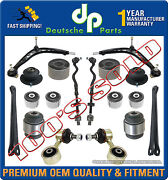 Control Arms Ball Joint Strut Mount Bearings Bushings Tie Rod Kit For Bmw E36