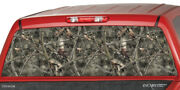 Camo Ghost Forrest Rear Window Hunter Graphics Truck Camouflage Sticker Tint Suv