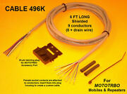 Cable 496k Motorola Mototrbo Xpr4300 Xpr4350 Xpr4500 Xpr4550 Xpr8300 Repeater