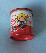 Sanrio Patty And Jimmy Pencil Sharpener Metal Rare Collectible Vintage 1976 New