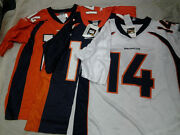Brian Griese 14 Denver Broncos Nfl Retro Reebok Or Nike Jersey Free Shipping