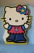 Sanrio Hello Kitty Die Cut Poster Board Easel Collectible Vintage 1976-2003 New