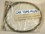 82-83 Chrysler Lebaron Side Tension Cables For Convertible Top