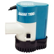 1100 Gph Electric Submersible Automatic Bilge Pump For Boats 1-1/8 Inch Outlet