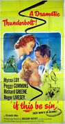 That Dangerous Age 1949 Myrna Loy, Roger Livesey Peggy Cummins Us 3-sheet Poster