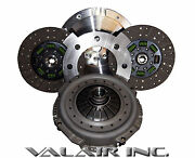 Valair Organic Buttons 550hp Towing Dual Disc Clutch Dodge 5 Speed 89-03
