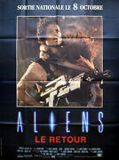 Aliens 1986 Sigourney Weaver Carrie Henn Bill Paxton French Poster