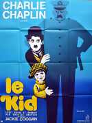 Kid 1921 Charlie Chaplin, Jackie Coogan, Edna Purviance French Poster