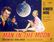 Man In The Moon 1960 Kenneth More Shirley Anne Field Uk Half Sheet Poster