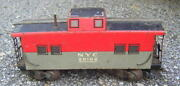 Marx Nyc 20102 Caboose Baltimore And Ohio Freight Car