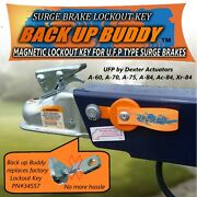 Magnetic Lock Out Key For Ufp Type Trailer Surge Brakes  Back Up Buddy