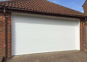 Electric Aluminium Insulated Remote Control Roller Garage Door With Fixings Kit