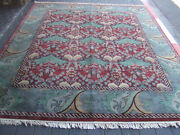 Beautiful Hand-woven India Rug Antiques Carpets 310x248-cm / 122.0x97.6-inches