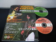 Jeff Beck Jimmy Page Guitar Playing Japan Book W Dbl Cd Led Zeppelin Yardbirds