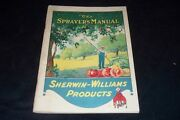 Vintage 1920 Sherman Williams Products Sprayers Manual Growers Fruit And Vegetable