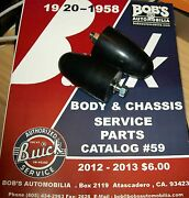 Buick New Lower Arm Bumpers 1939 To 1956 Free Shipping +our 131 Pg.cat 411143