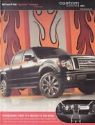 2009 Ford F-150 Synister Concept Sema Show Promo Info Card