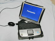 Panasonic Cf-19 Touch Screen Tablet Toughbook Gps Win 7 Pro 4gb 250gb Office