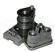 Nautos 91648 - Track End Control For Main Traveller - 41 With Cleat - Starboard