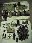 1968 Johnson Evinrude 100 Block Bolts Covers Hardware And Many Misc Parts 100883b