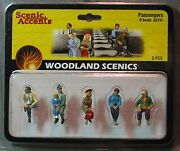 Woodland Scenics Figures O Scale A2731 Passengers Train People Wds2731 New