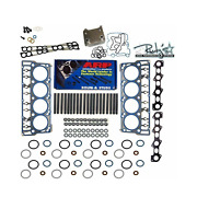 Oem Head Gasket Replacement Arp Studs 20mm For 2006-2007 Ford 6.0l Powerstroke