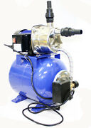 1.6 Hp 110v 1200w Shallow Jet Water Well Pump With Tank Garden Sprinkler System
