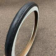 Bicycle Slick Tire For Schwinn Stingray Rear Wheel Huffy Sears Others 20 X 2.125