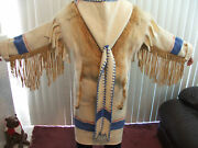 Amazing Capotes Handmade Coat From Coyote Fur And Wool Blanket From England