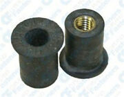 25 Rubber Well Nuts M5-.8 .554 Length 3/8 Hole