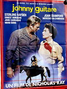 Johnny Guitar 1954 R80's•french Movie Poster Grande 1-panel•crawford•hayden