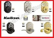 Kwikset 910 And 912 Smart Home Deadbolts And Door Locks With Wireless Z-wave Module