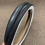 Bicycle Tires Fit Schwinn Stingray Bike 20 X 1-3/4 S-7 Front And S-2 Rear Slick