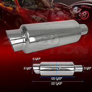Burnout Stainless Steel Exhaust Muffler For Ford Gmc Honda Infiniti Jeep
