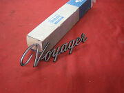 1966 Mercury Comet Voyager Wagon Nos Emblem C6gy-7128818-a With Oem Box