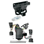 Draw Tite Black Max-frame Class Iii Hitch And Wiring Connector For Jeep Commander