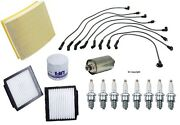 Tune Up Kit Cabin Filter , Air And Oil Filter ,ngk Spark Plugs And Bosch Wire Set