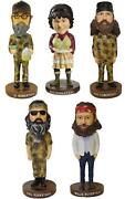 New Duck Dynasty Commander Bobbleheads - Authentic 7 Tall - Choose Character