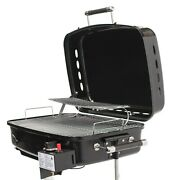 Rv Mounted Bbq Motorhome Gas Grill Bbq Trailer Side Mount Barbeque Grill New