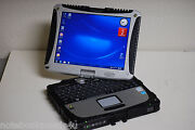 Panasonic Cf-19 Touch Screen Tablet Toughbook Win 7 Pro 3gig 500gb Digitizer Pen