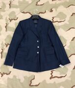 Us Air Force Coat Jacket Womenand039s Dress Poly/wool Af Shade 1620