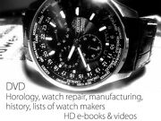 Dvd Full Of Books And Videos + Horology- Clock And Watch Making Repair History A