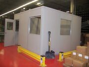 Modular Inplant Office System - 8and039 X 8and039 Or Built To Customer Spec