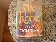 The Robe By Lloyd C. Douglas. Signed First Edition In Dust Jacket. 1942 Scarce