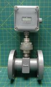 Schutte / Koerting Cox Instruments Magnetic Flanged Flow Meter 6 O.d. 5 Pcd